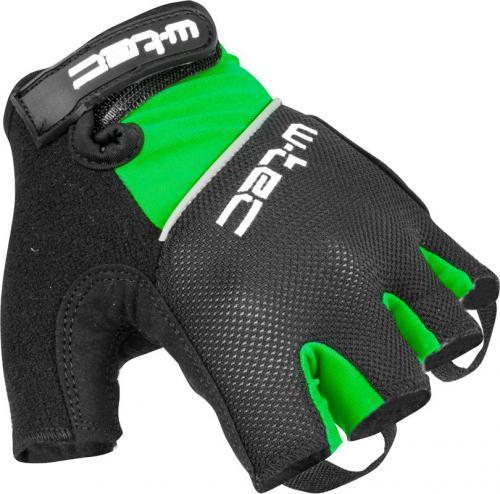 W-TEC Rękawiczki rowerowe Bravoj AMC zielono-czarne r. L