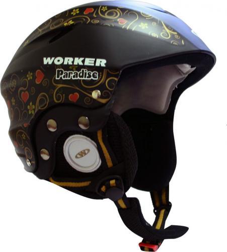 WORKER Kask Paradise czarny r. XS (48-52) - 3446-2XS