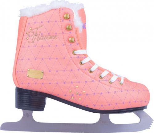 Action Damskie łyżwy figurowe Flacier r. 36 różowe - 13339-36