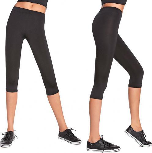 Bas Black Damskie sportowe spodnie 3/4 Forcefit 70 S