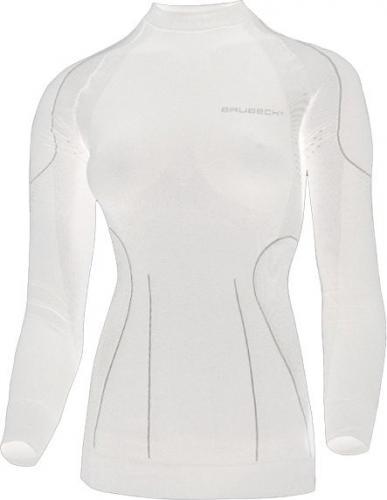 Brubeck Koszulka Damska Z Długim Rękawem THERMO Biały L (LS01140-5L)