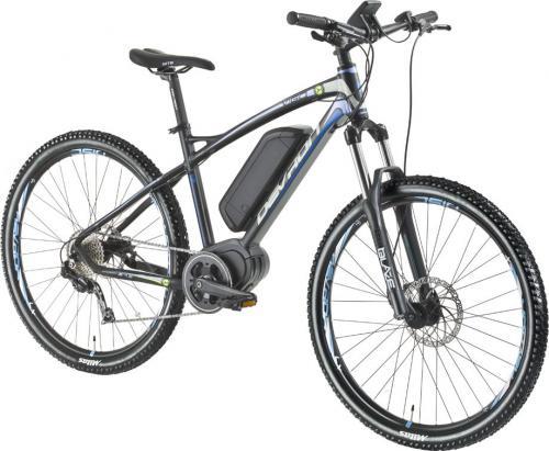 """Devron Elektryczny rower górski 27225 - model 2016 Kolor Czarny rajdowy, Rozmiar ramy 19,5"""" (2167225DH6049)"""