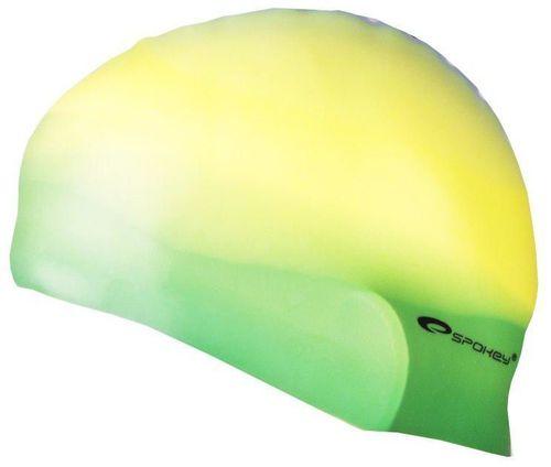 Spokey Czepek pływacki Abstract żółto-zielony (85372)