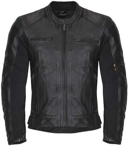 b66e723dd7e5c W-TEC Kurtka motocyklowa męska skórzana Mardok NF-1121 czarna r. L (
