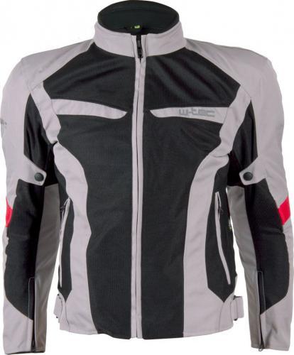 2d092e04d8a06 W-TEC Męska kurtka motocyklowa Ventex szaro-czarna r. 3XL (9769) w ...