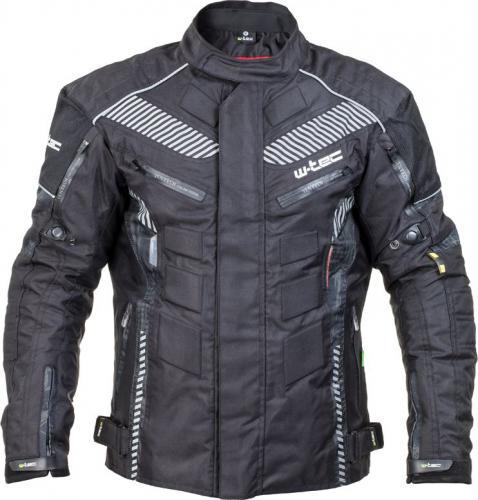 W-TEC Męska kurtka motocyklowa Kamicer NF-2100 czarno-szary r. XXL  (15133-2-XXL)