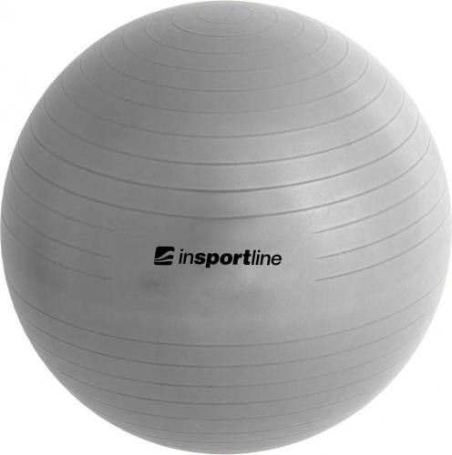 inSPORTline Piłka gimnastyczna Top Ball 85 cm Kolor Szary (3912-1)