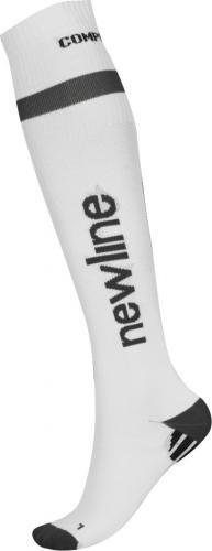 Newline  Podkolanówki skarpety kompresyjne do biegania białe r. 43 - 46 - 90941-XL-020