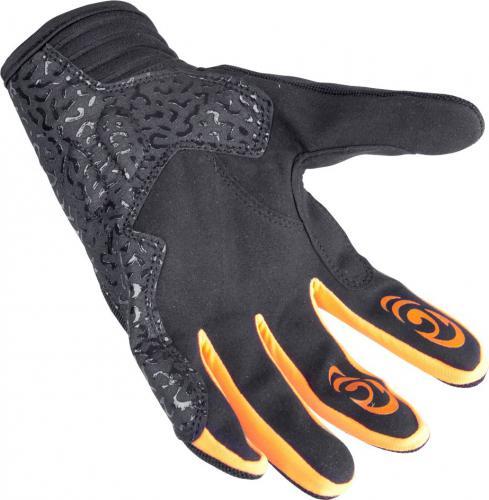 W-TEC Rękawice motocyklowe GS-9044 pomarańczowo-czarne r. M (12935)