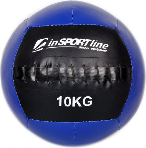 inSPORTline Piłka lekarska Wall ball 10 kg (7272)