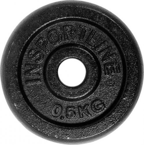 inSPORTline Obciążenie żeliwne 0,5 kg 30mm - 2172