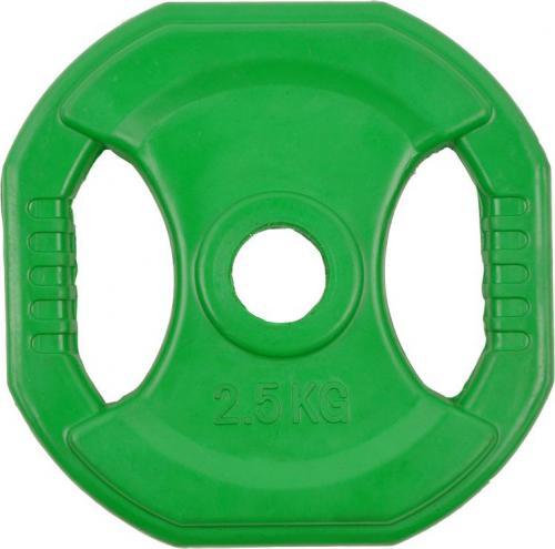 inSPORTline Obciążenie czworokątne Pump set 2,5kg 30mm zielone - 5048