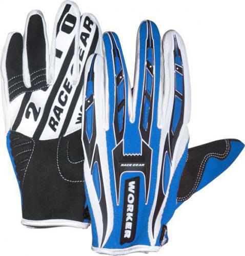 WORKER Rękawice motocyklowe MT790 niebieskie r. XL (2574-2XL)