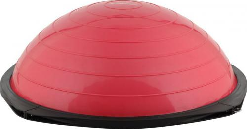 inSPORTline Bosu Trener równowagi z linkami Dome Advance Kolor Czerwony (7758-3)