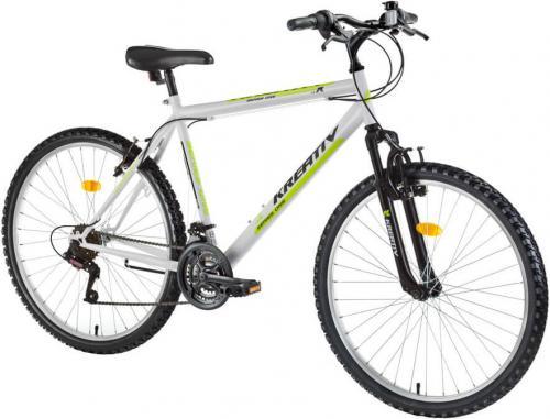 "Kreativ Rower Górski Z Amortyzatorami 2603 26"" Model 2017 Kolor Biały (217260390)"