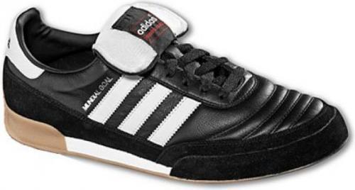 Adidas Buty piłkarskie Mundial Goal IN czarno-białe r. 43 1/3 (019310)