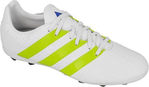 Adidas Buty piłkarskie adidas ACE 16.4 FxG Jr AF5035 Białe r. 35