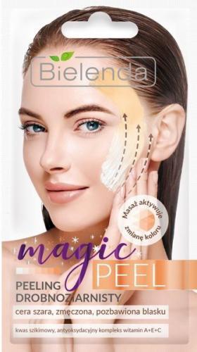 Bielenda Magic Peel Peeling drobnoziarnisty - cera szara,zmęczona i pozbawiona blasku  8g