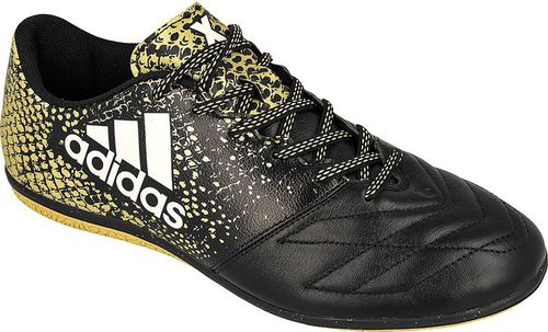 4789a1400ec3a Adidas Buty halowe X 16.3 IN Leather M Czarne r. 40 2/3 (BB4196) w ...