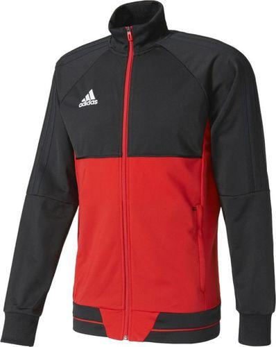 Adidas Bluza piłkarska Tiro 17 czerwono-czarna r. M (BQ2596)