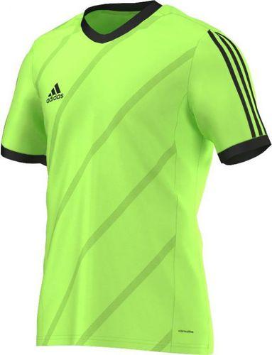 Adidas Koszulka piłkarska męska Tabela 14 zielono-czarna r. L (F50275)