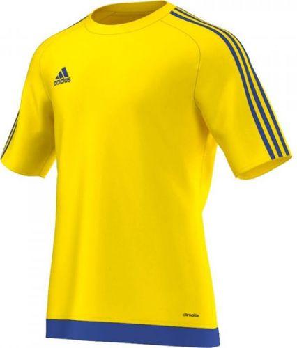 Adidas Koszulka piłkarska Estro 15 żółto-niebieska r. L (M62776)