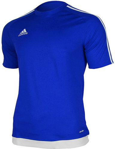 37b36d4c9 Adidas Koszulka piłkarska męska Estro 15 niebiesko-biała r. M (S16148)