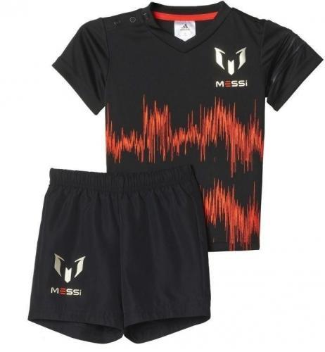 Adidas Komplet juniorski Mini Me Messi Set Kids czarny r. 68 (AJ7352)