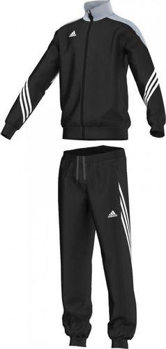 Adidas Dres juniorski Sereno 14 JR Black/Silver/Wht r. 140 (F49707)