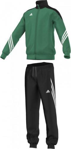 Adidas Dres treningowy Sereno 14 Junior Zielono-czarny, Rozmiar 164 (F49709*164)