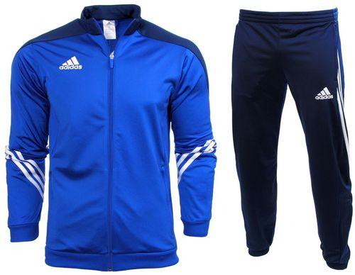 Adidas Dres juniorski Sereno 14 JR Cobalt/Newnav/Wht r. 152 (F49716)