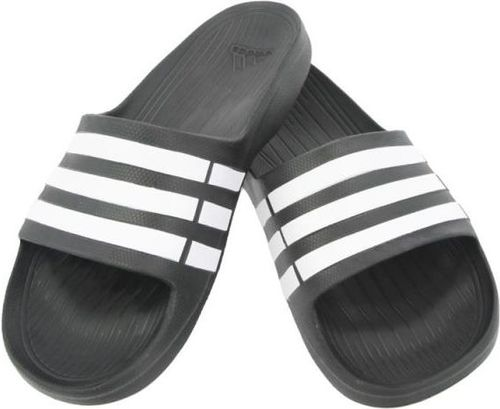 Adidas Klapki męskie Duramo Slide kolor czarny r. 40 2/3 (G15890)
