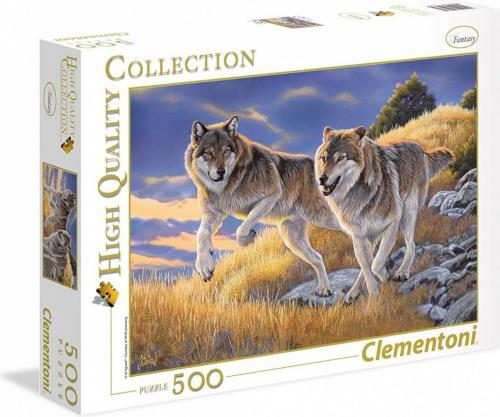 Clementoni Puzzle 500el Wilki (35033)