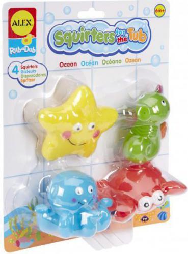 Dante ALEX Bath Squiters. Zabawki do kąpieli - Ocean (038-700OC)