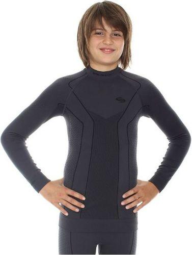 Brubeck Koszulka termoaktywna Brubeck Thermo Junior LS11500 grafitowa - LS11500*152/158*gra