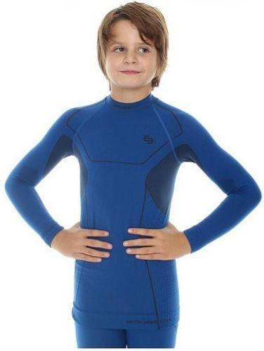 Brubeck Koszulka termoaktywna Thermo Kids niebieska r. 104/110 (LS11460)