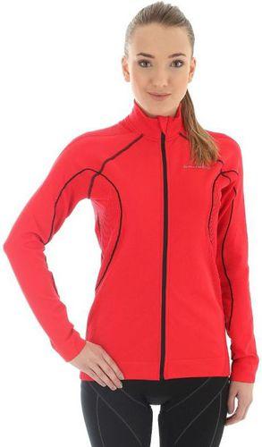 Brubeck Bluza damska Bicycle W czerwona r. L (LS11050)
