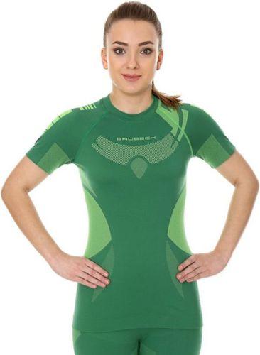Brubeck Koszulka damska zielono-limonkowa r. S (SS11960)