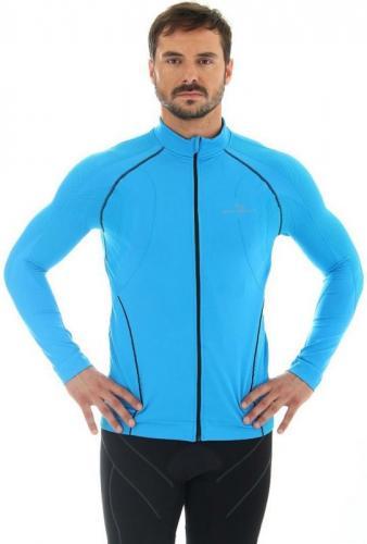 Brubeck Bluza Brubeck Bicycle M niebieska LS11060 - LS11060*M*nie