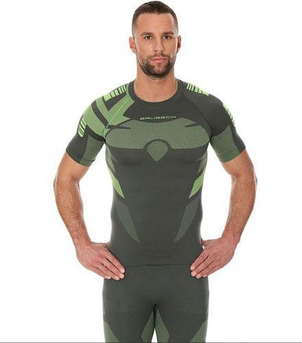 Brubeck Koszulka męska DRY zielona r. L (SS11970)