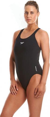 Speedo Strój kąpielowy Essential Endurance+ Medalist Black r. 34 (8-007260001)