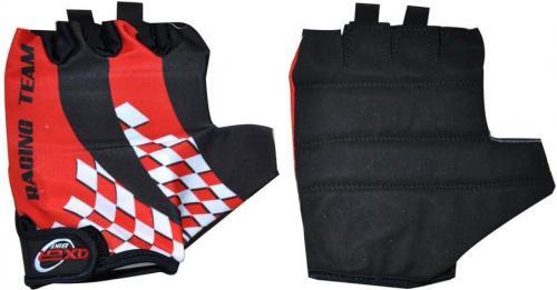 Axer Bike Rękawiczki rowerowe Cycle Gloves czerwono-czarne r. L (A0757-L)