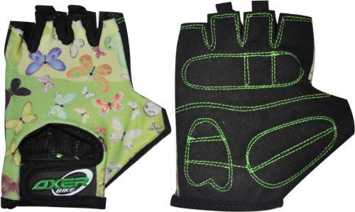 Axer Bike Rękawiczki rowerowe dziecięce Cycle Gloves For Children zielone r. XXS