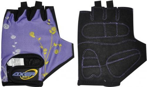 Axer Rękawiczki rowerowe Cycle Gloves For Children fioletowe r. XXS
