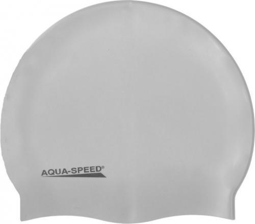 Aqua-Speed Czepek Mega 26 srebrny (40741)