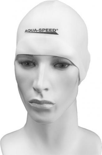 Aqua-Speed Czepek Silikon Mono Racer biały (48092)