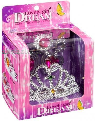 MEGA CREATIVE Zestaw księżniczki diadem