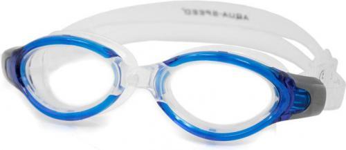 Aqua-Speed OKULARKI PŁYWYWACKIE TRITON 01 niebieski (49603)