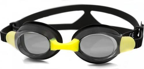 Aqua-Speed Okularki Aliso 07 Czarno-żółte (49941)