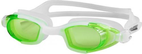 Aqua-Speed Okularki Marea Junior 30 biało/zielone (40158)